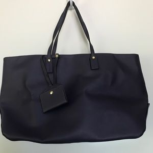 Handbags - LARGE NAVY BLUE TOTE WITH MATCHING WALLET